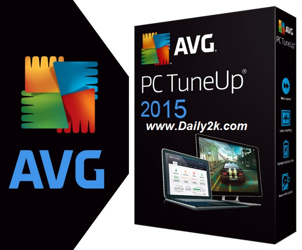 AVG PC TuneUp 2015 Product Key Free Download Latest Update By Daily2k