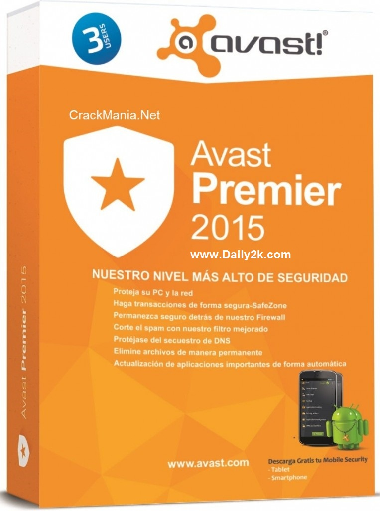 Avast 2015 Activation Code, Crack Till 2050, License key Files