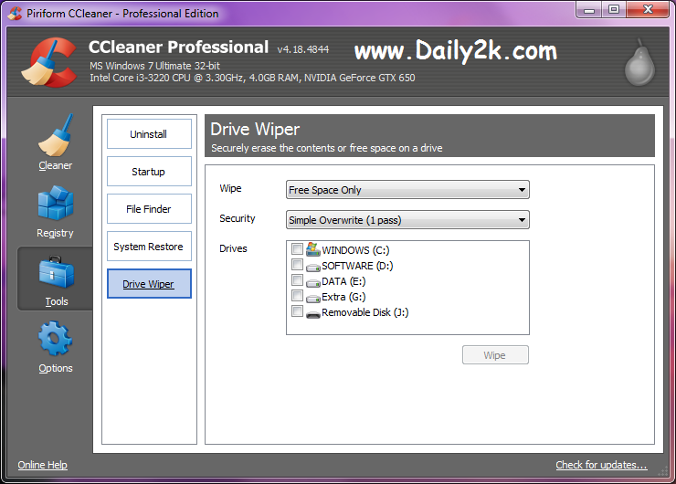 CCleaner Professional Crack, Serial Key Latest Update -daily2soft.com