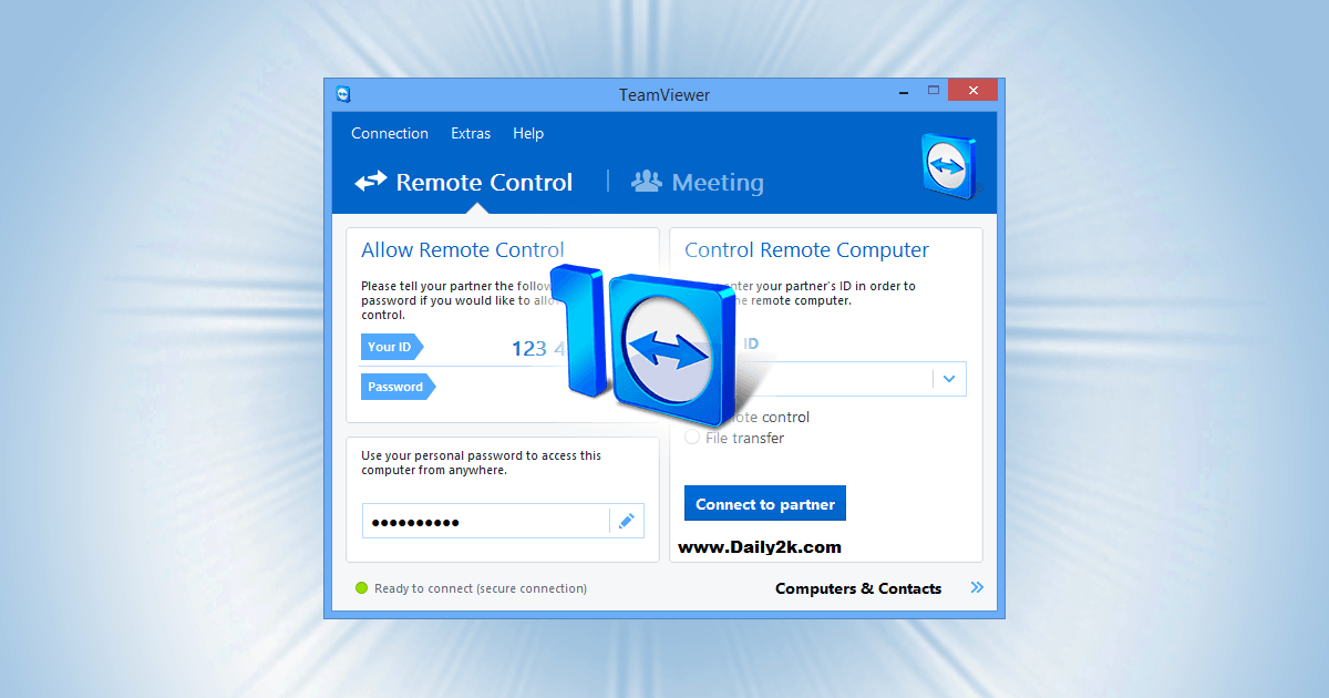 Team Viewer 10 Crack,Latest Update By (2016)