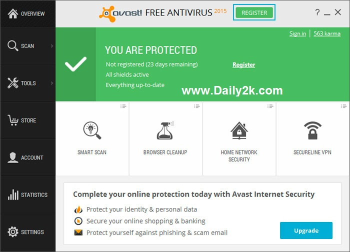 Avast 2015 Activation Code, Crack Till 2050, License key Files