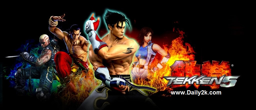 Tekken 5 PC Game Free Download 2015 Full Version