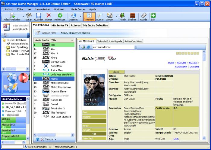 Extreme Movie Manager 8.3 Full Final Latest Version Download Free