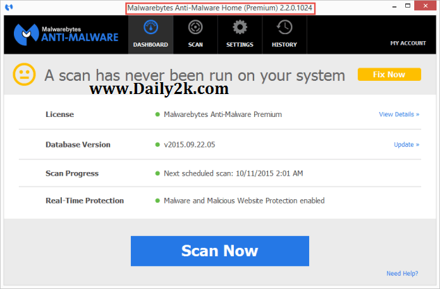Malwarebytes Anti-Malware 2.2.0.1024 LifeTime Key,Crack Latest! [is Here ]