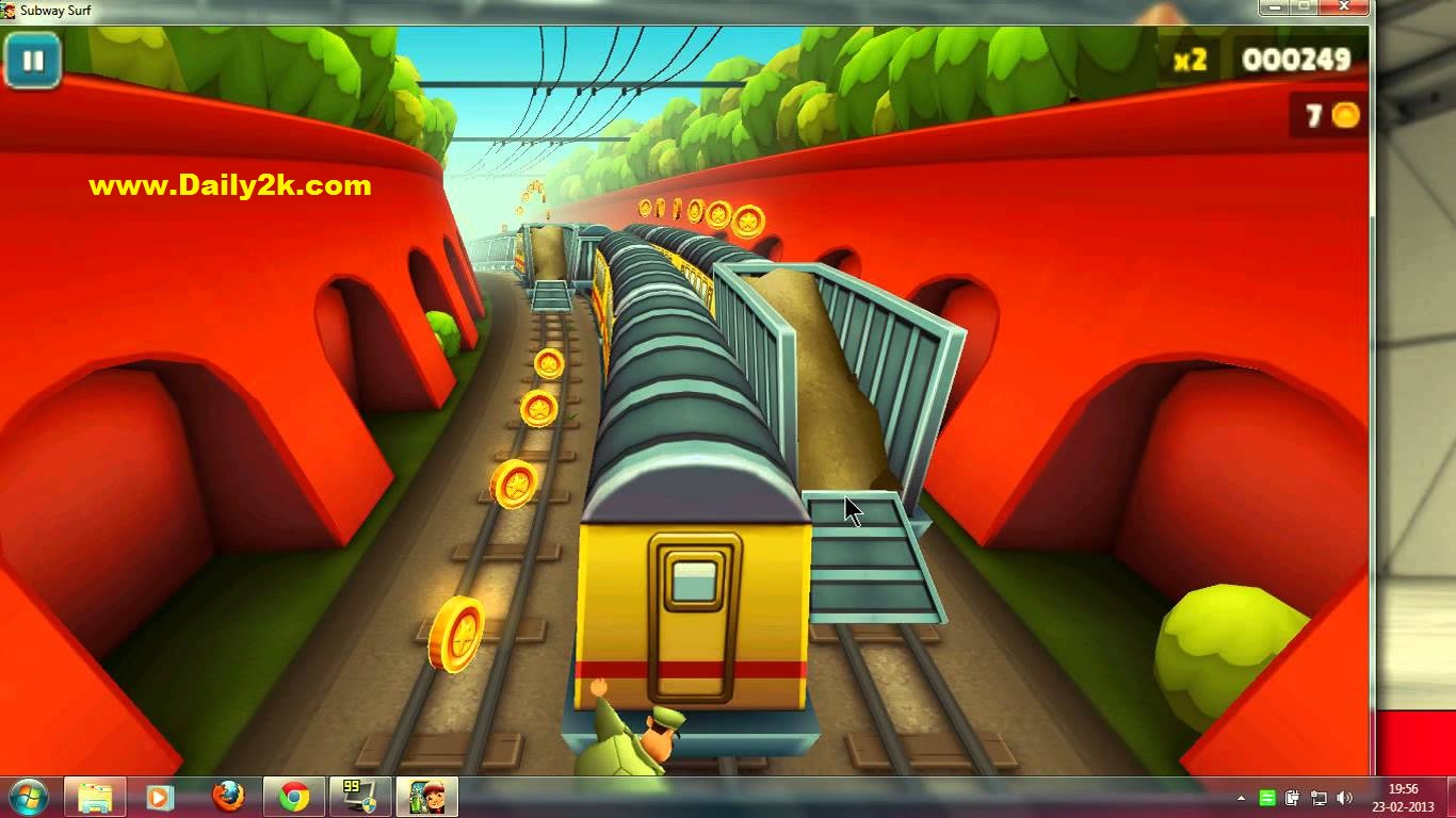 A Game For Free : Subway surfers games play free on game
