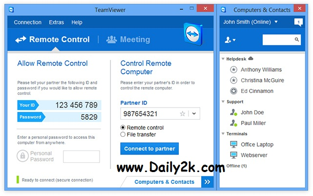 TeamViewer 9 Full Crack,Serial Key Letest Version 2016 Full Download