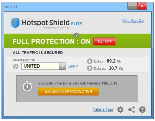 Hotspot Shield Elite Serial Number-Download daily2soft com