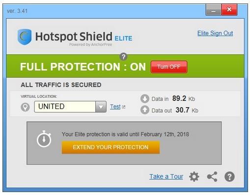 Hotspot Shield Elite Serial Number Plus Serial Key Free Full Version Download-daily2k