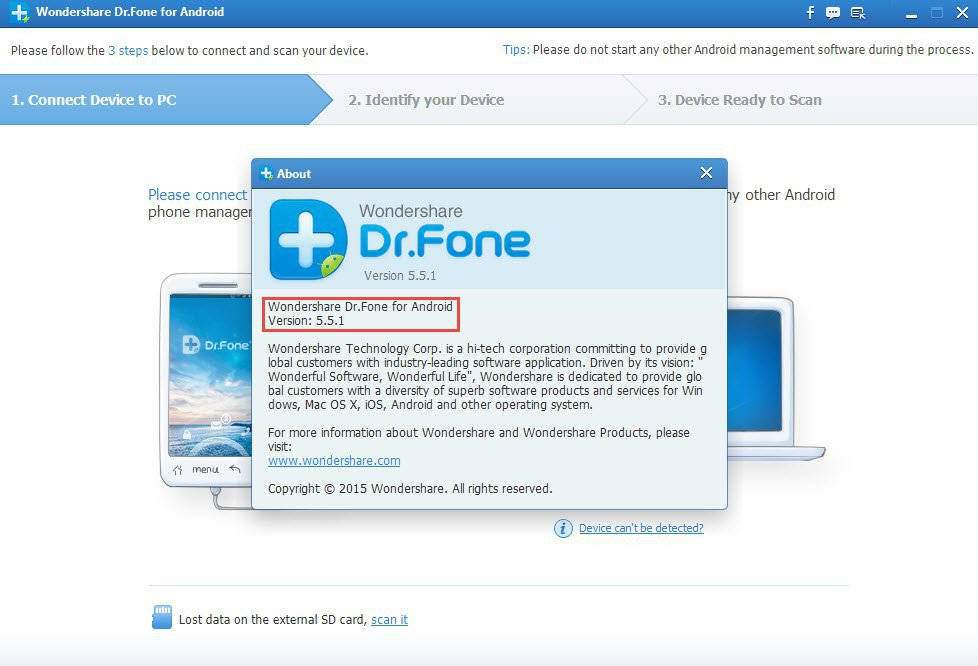 WonderShare Dr.Fone For Android Crack -daily2k