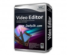 Wondershare Video Editor 5.1.1 Crack & Serial Key Full Version