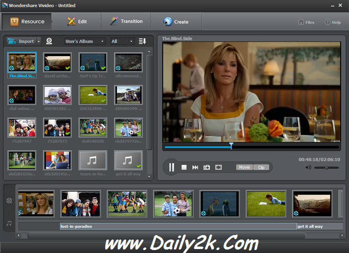 Wondershare Video Editor-daily2k