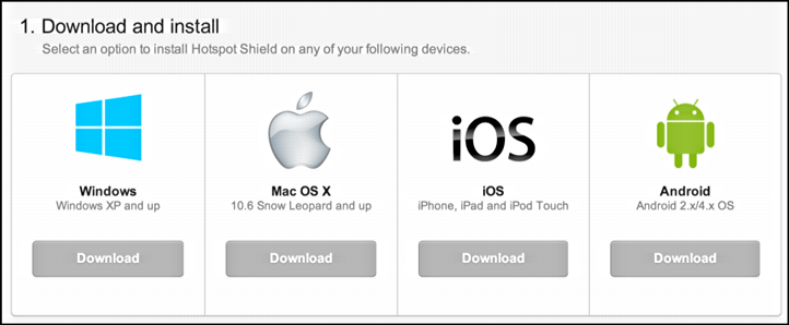 Hotspot Shield Free Download latest Version With Crack Here