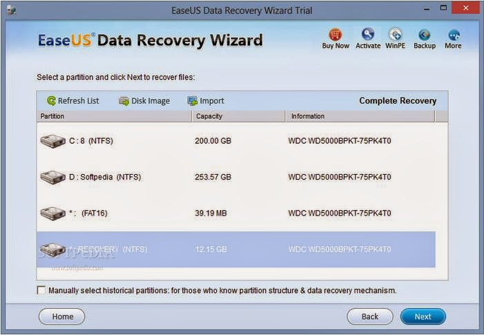 EaseUs Data Recovery Wizard -daily2k