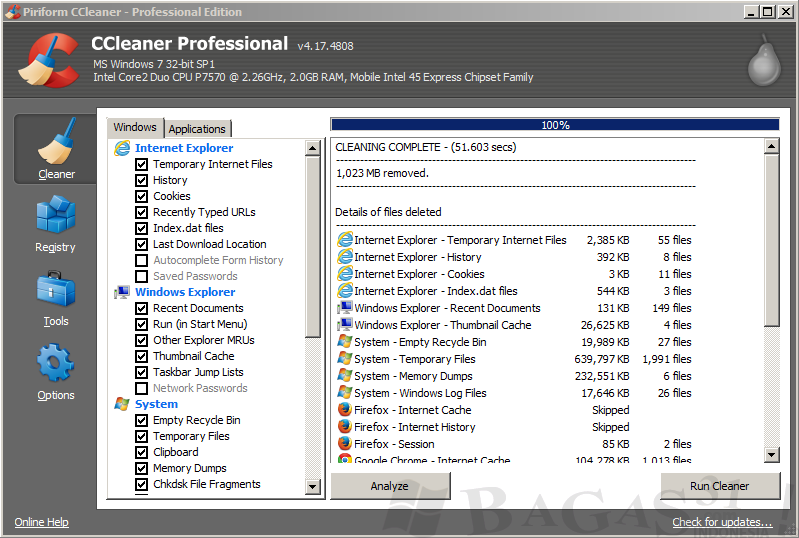 CCleaner Professional -daily2k
