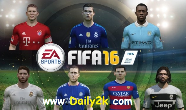 FIFA 16 Super Deluxe Edition Cracked -Daily2k