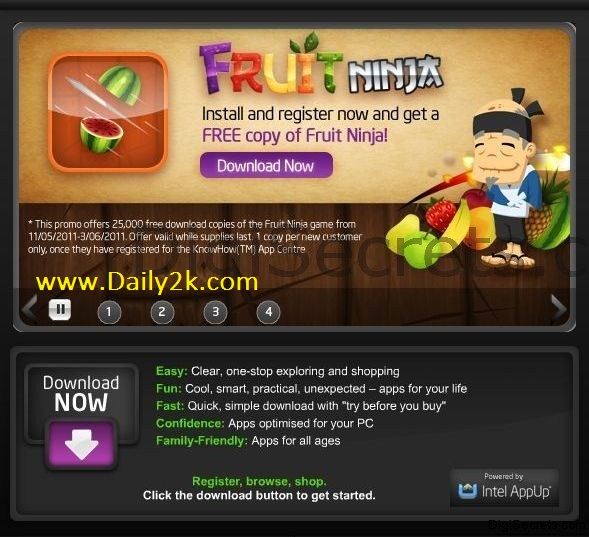 Fruit Ninja HD-Daily2k