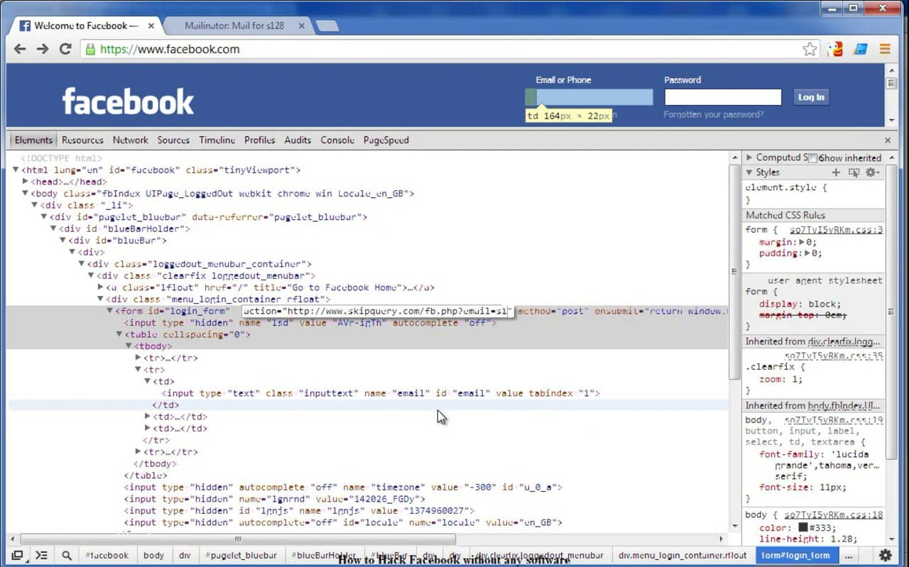 How To Hack FaceBook -daily2k