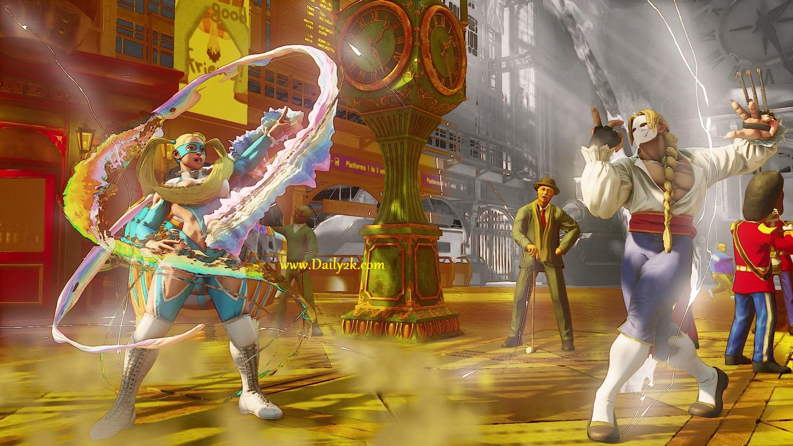 Street Fighter V Beta Cracked PC Game-Daily2k