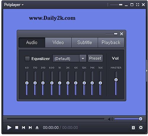 Daum PotPlayer Daily2k