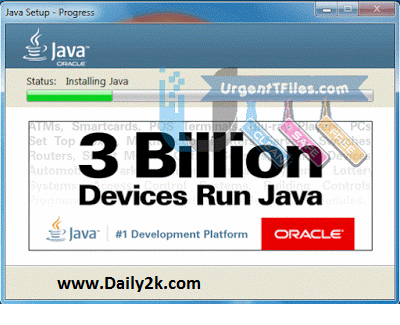 Java Runtime Environment Daily2k