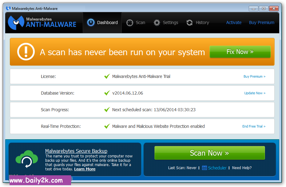 Malwarebytes Anti-Malware Premium 2.2 Key Free Latest Download HERE!