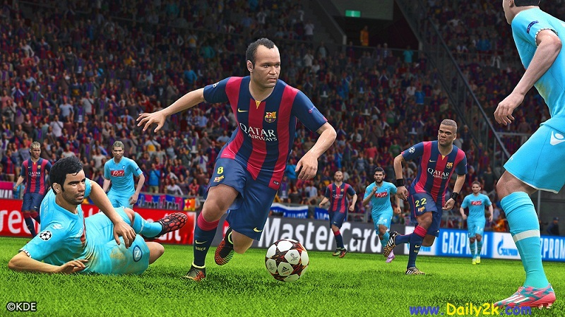 PES 2015 Crack And Serial Key -Daily2k