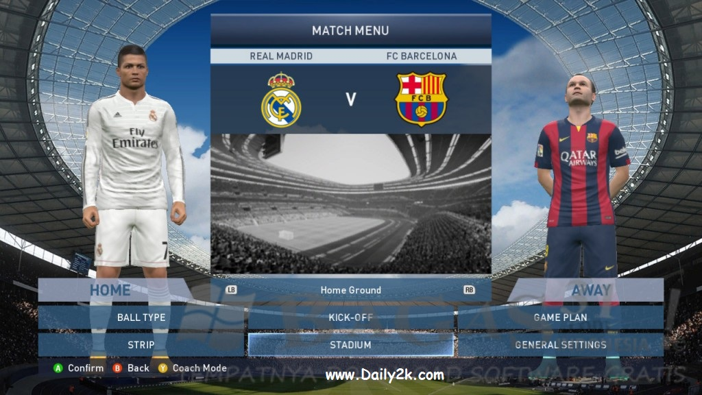 PES 2015 Crack And Serial Key Generator Latest Version Download-Daily2k