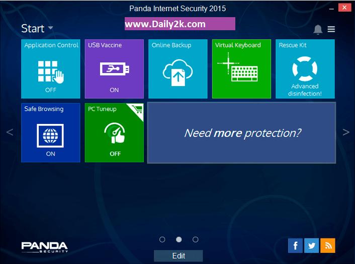 Panda Antivirus Pro 2015-Daily2k