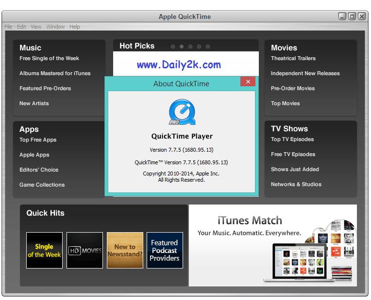 Quick Time 7 Pro Keygen-Daily2k