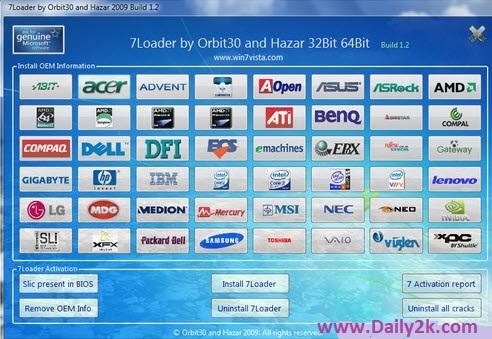 Windows 7 Loader Daily2k