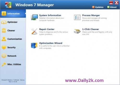 YamicSoft Windows 7-Daily2k