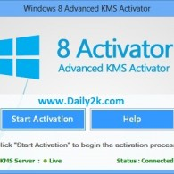 Windows 8 Activation Crack, Product Key Free Download