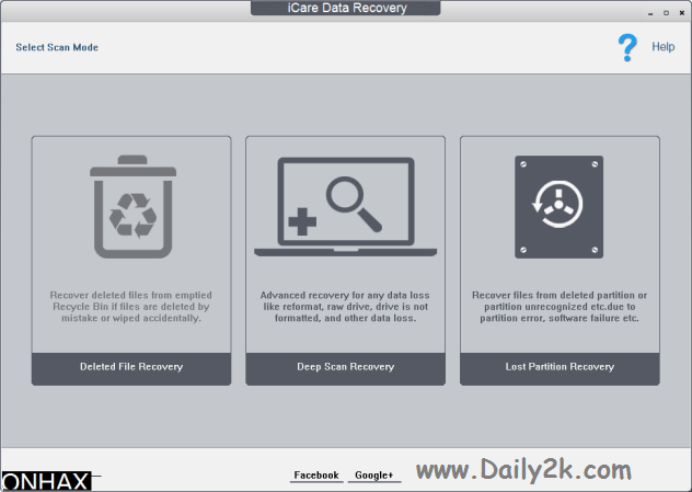 iCare Data Recovery Pro Daily2k