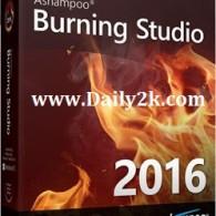 Ashampoo burning Studio 2016 Serial Key & Keygen Full Free Download