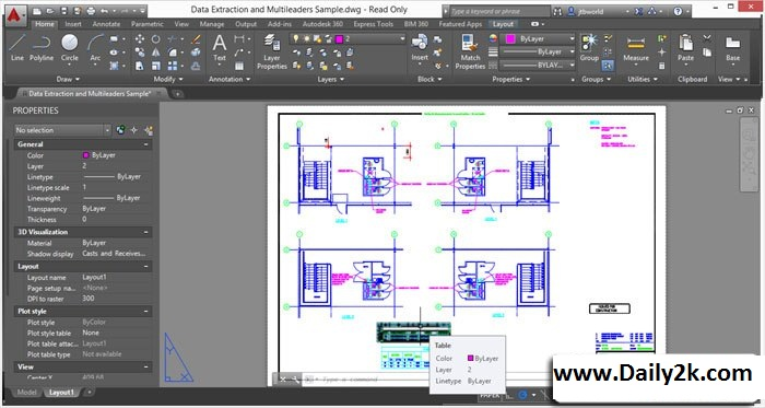 AutoCAD 2015 Crack, With Keygen Full -Daily2k