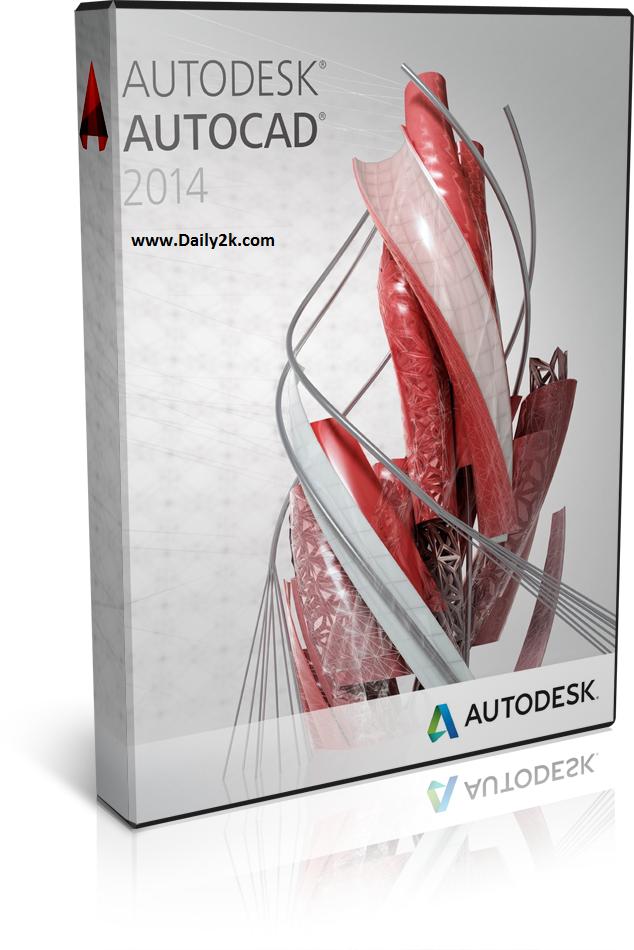 Autodesk AutoCAD 2014 Crack-daily2k