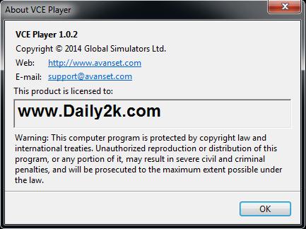 Avanset VCE Exam Simulator-Daily2k