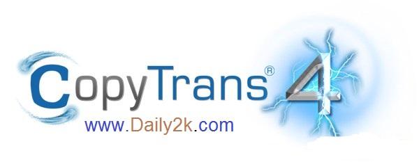 CopyTrans 4 Keygen -Daily2k