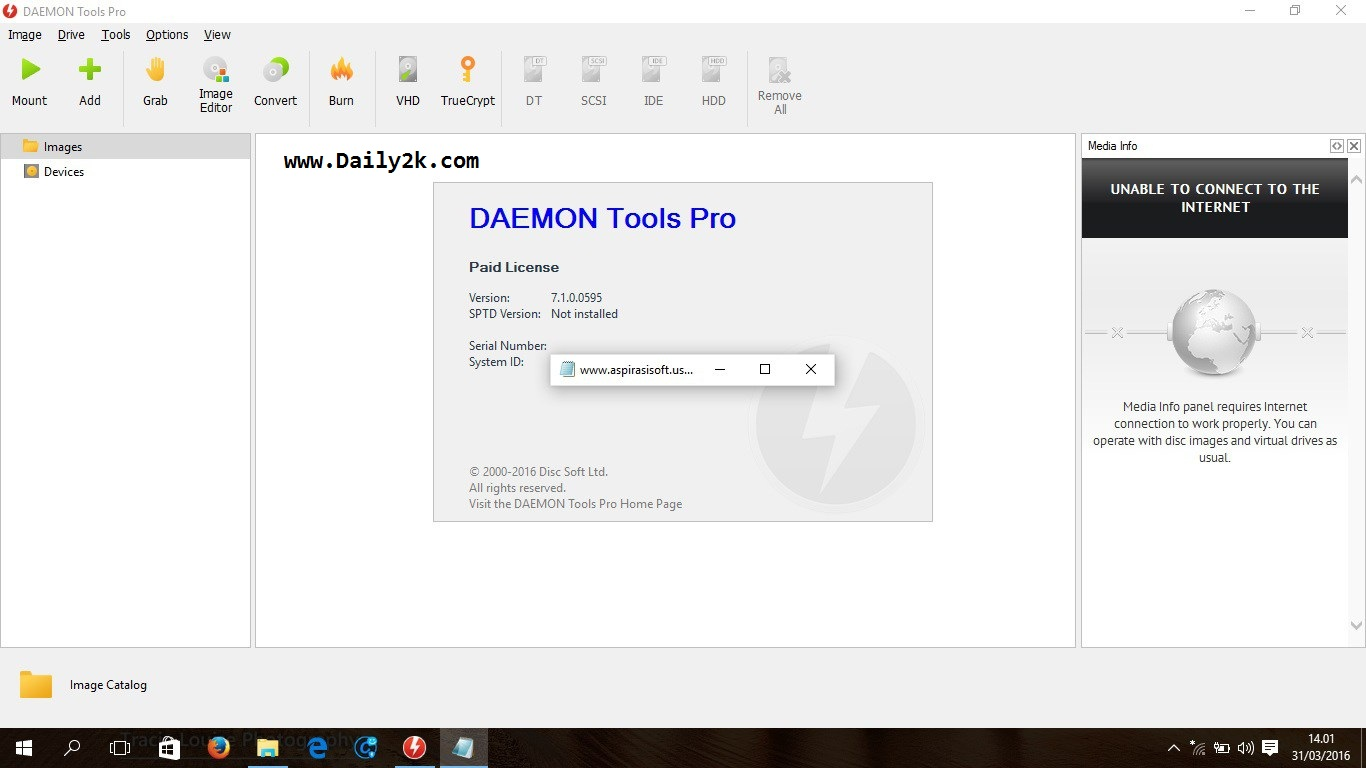 Daemon Tools Pro 7.1 Activator With Serial Number Here -Daily2k