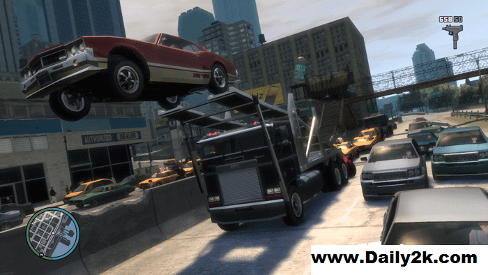 Grand Theft Auto IV Complete Free Download For PC [Game]-Daily2k