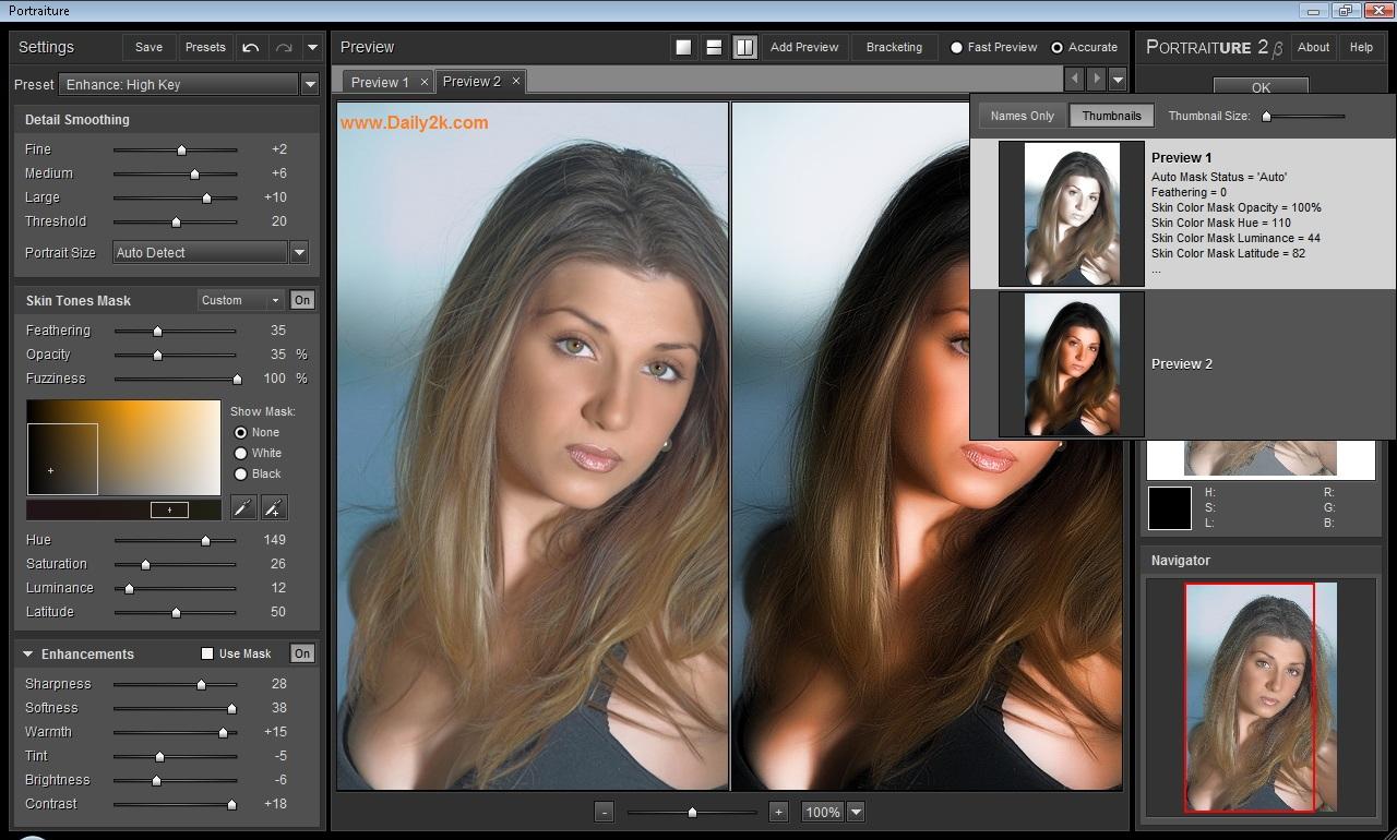 Imagenomic Portraiture 2.3 Plug-in -Daily2k