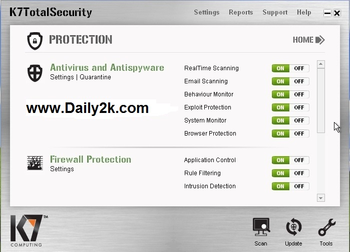 K7 Total Security Activation Key-Daily2k