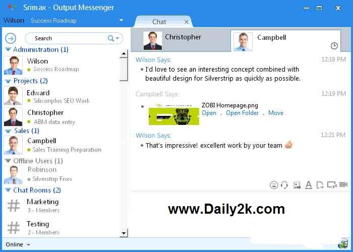 outlook lan messenger 6.0.39