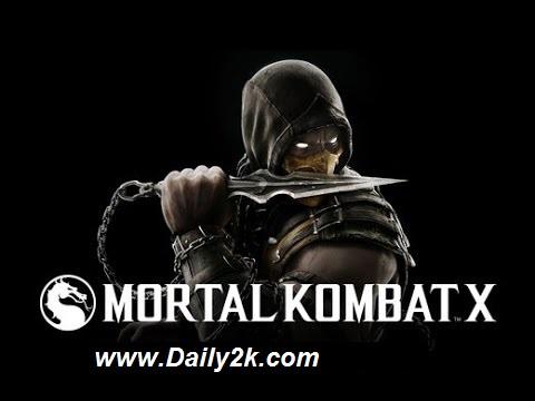 MORTAL KOMBAT X Android Apk-Daily2k
