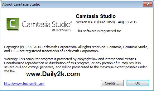 TechSmith Camtasia Studio 8.6-Daily2k