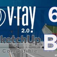 V-Ray 2.0 For SketchUp 2016 Full Crack Free Update Here!