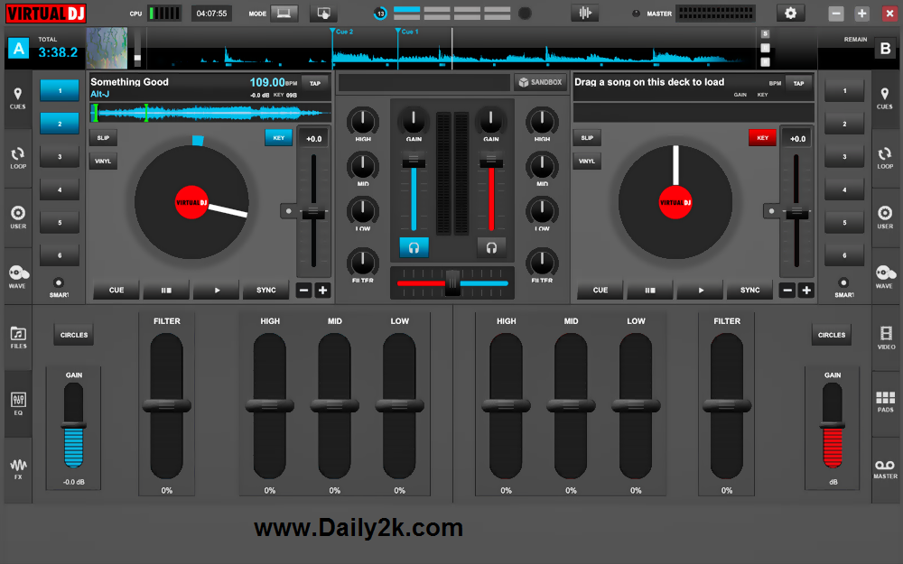 Virtual DJ Pro 8.1.2 Crack Free Doqnload Latest Daily2k