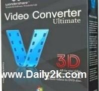 WonderShare Video Converter Ultimate 8 Registration Code  Full Free Download