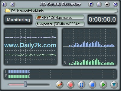 AD Sound Recorder 5.6.3 Crack,Serial Key Free Download -Daily2k