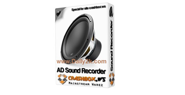 AD Sound Recorder 5.6.3 Crack,Serial Key Free Download Latest Here Daily2k